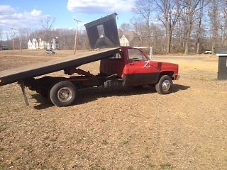 1986 k30 pick up flat bed chevy truck for sale: photos, technical