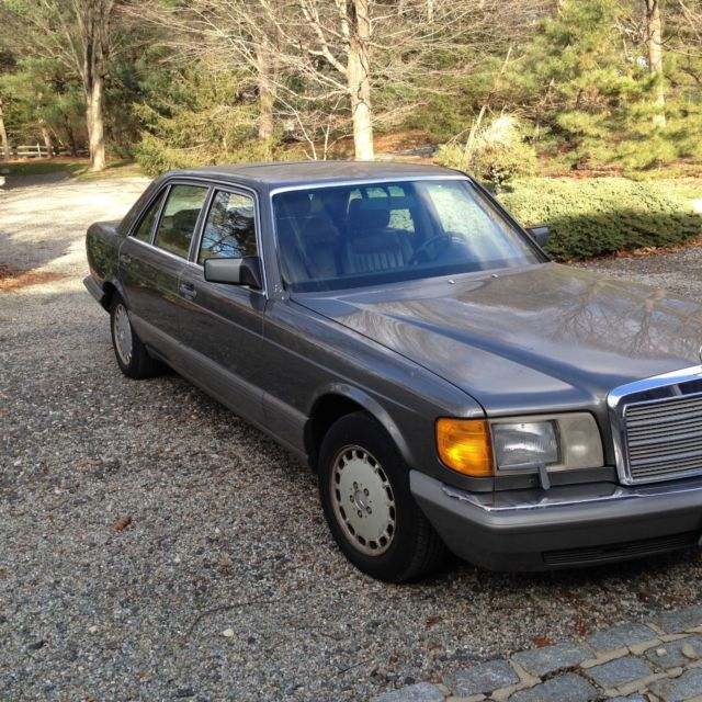 1986 mercedes benz 420 sel bronze s class loaded 1 owner obo for Mercedes benz s 420
