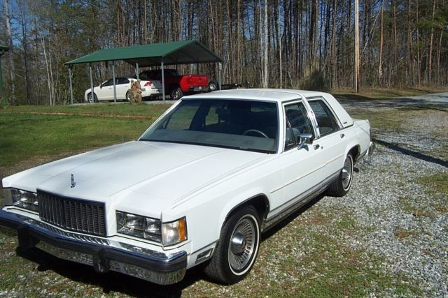 1986 Mercury Grand Marquis  Like New For Sale  Photos