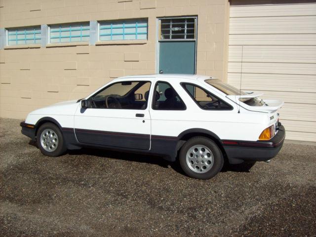 1986 merkur xr4ti turbo automatic