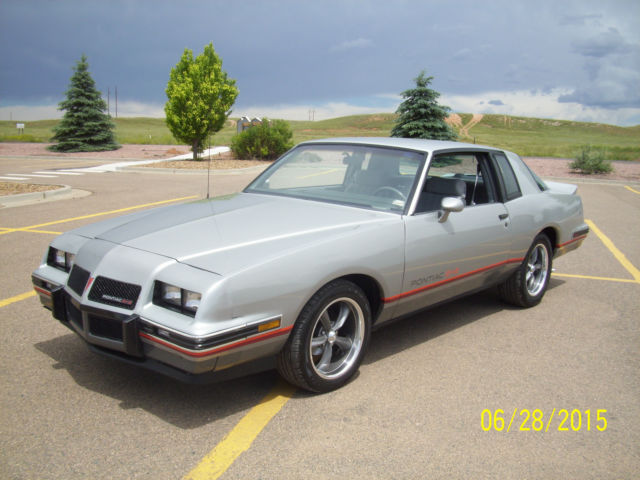 1986 pontiac grand prix aero coupe 2 door 5 0l for sale in laramie wyoming united states. Black Bedroom Furniture Sets. Home Design Ideas