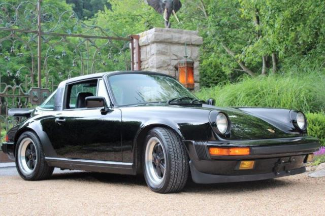 1986 Porsche 911 Targa Black On Black 5 Speed Manual Inspected And Serviced For Sale Photos Technical Specifications Description