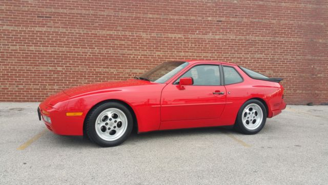 1986 Porsche 944 Turbo 2 5l I4 8v Manual 5sp Red Coupe For Sale In Macomb Illinois United States For Sale Photos Technical Specifications Description