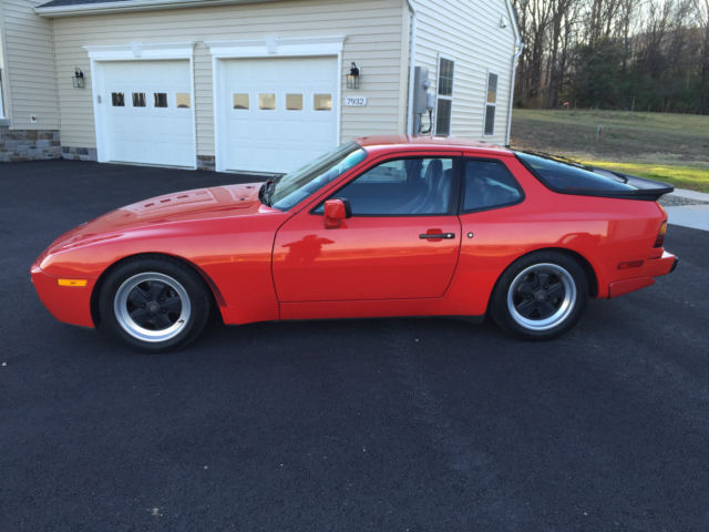 1986 Porsche 944 Turbo 83 400 Miles Fuchs Sport Seats Excellent Cond 951 For Sale In Middletown Maryland United States For Sale Photos Technical Specifications Description
