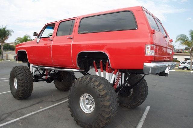 Chevrolet Suburban San Diego >> 1986 Suburban monster truck custom lifted hot rod 4x4 49s