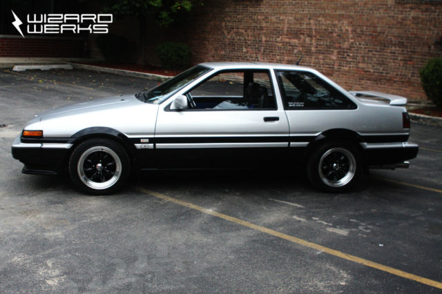 1986 toyota corolla gt s for sale in autos post. Black Bedroom Furniture Sets. Home Design Ideas