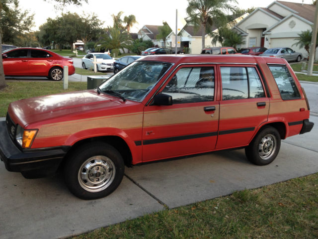 1986 Toyota Tercel 4wd Station Wagon All Original Low