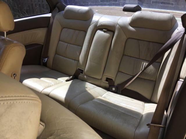 Acura Legend L Honda V Coupe At White Door Leather K Original Miles