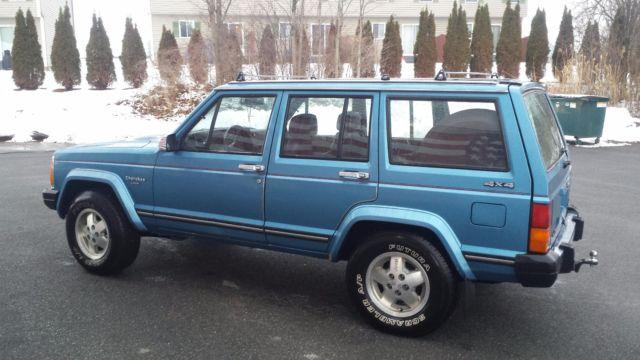 1987 Amc Jeep Cherokee Laredo Xj 4 0 Auto Made Amp Assembled