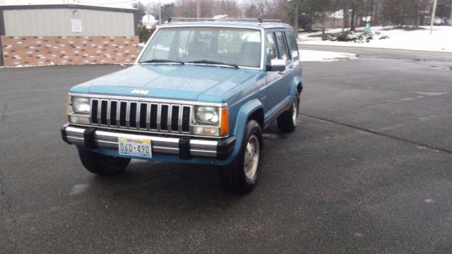 1987 Amc Jeep Cherokee Laredo Xj 4 0 Auto Made  U0026 Assembled
