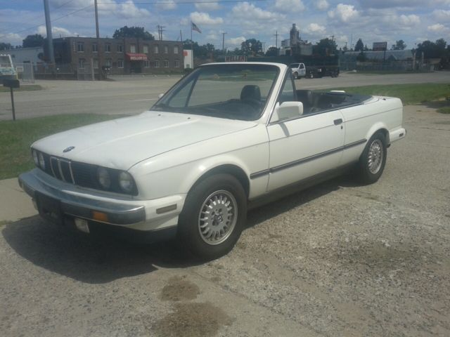 1987 BMW E30 325i Convertible - BMW Factory Rims - Starts ...