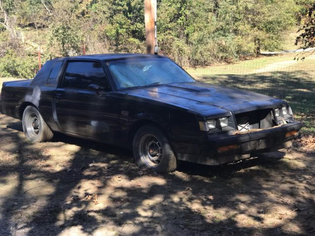 1987 buick grand national cheap for parts or fixer upper - 1987 buick grand national interior ...