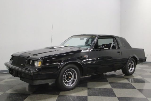 1987 Buick Grand National Coupe 3 8 V6 Turbo 4 Speed Automatic W Overdrive Cla