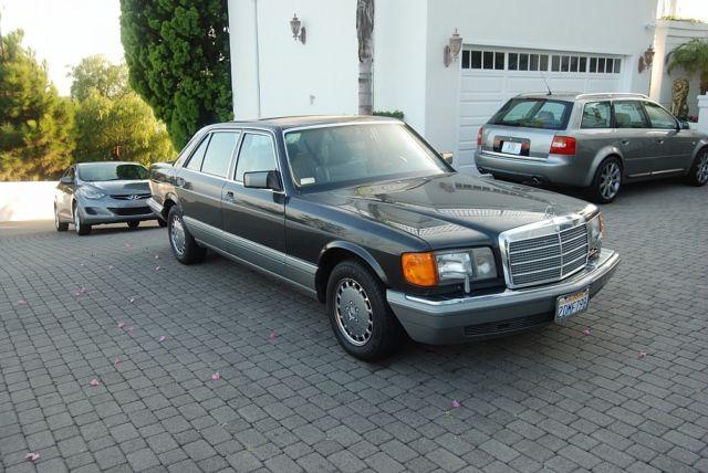 1987 california one owner mercedes benz 420 sel sedan nice for Nice mercedes benz cars
