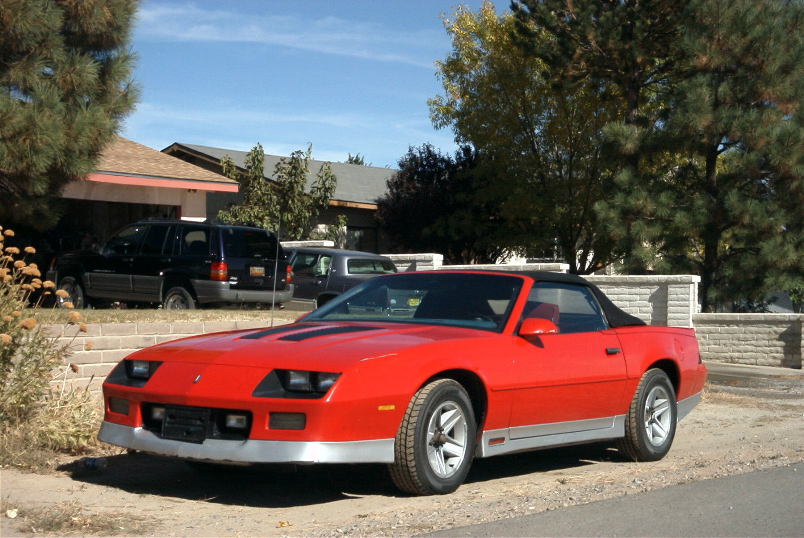 1987 chevrolet camaro z28 20th anniversary special le convertible 2 door 5 0l for sale in. Black Bedroom Furniture Sets. Home Design Ideas