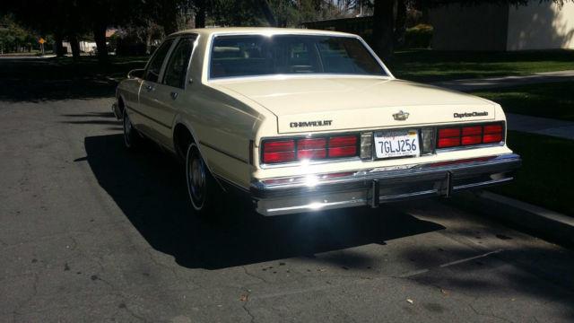 1987 Chevrolet Caprice Classic Sedan 4 Door 5 0l For Sale In