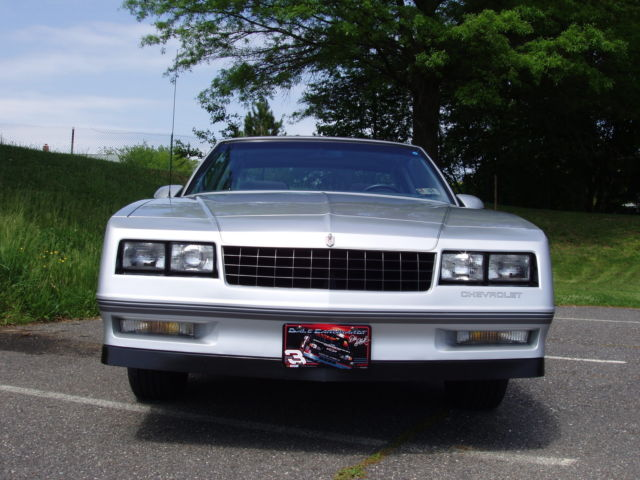 1987 chevrolet monte carlo ss aerocoupe with t tops for sale in brookhaven pennsylvania united. Black Bedroom Furniture Sets. Home Design Ideas