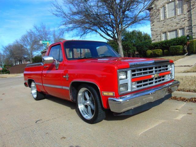 1987 Chevrolet Pickup 1/2 Ton Chevy Truck Square Body ...