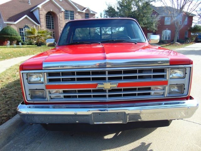 1987 Chevrolet Pickup 1 2 Ton Chevy Truck Square Body