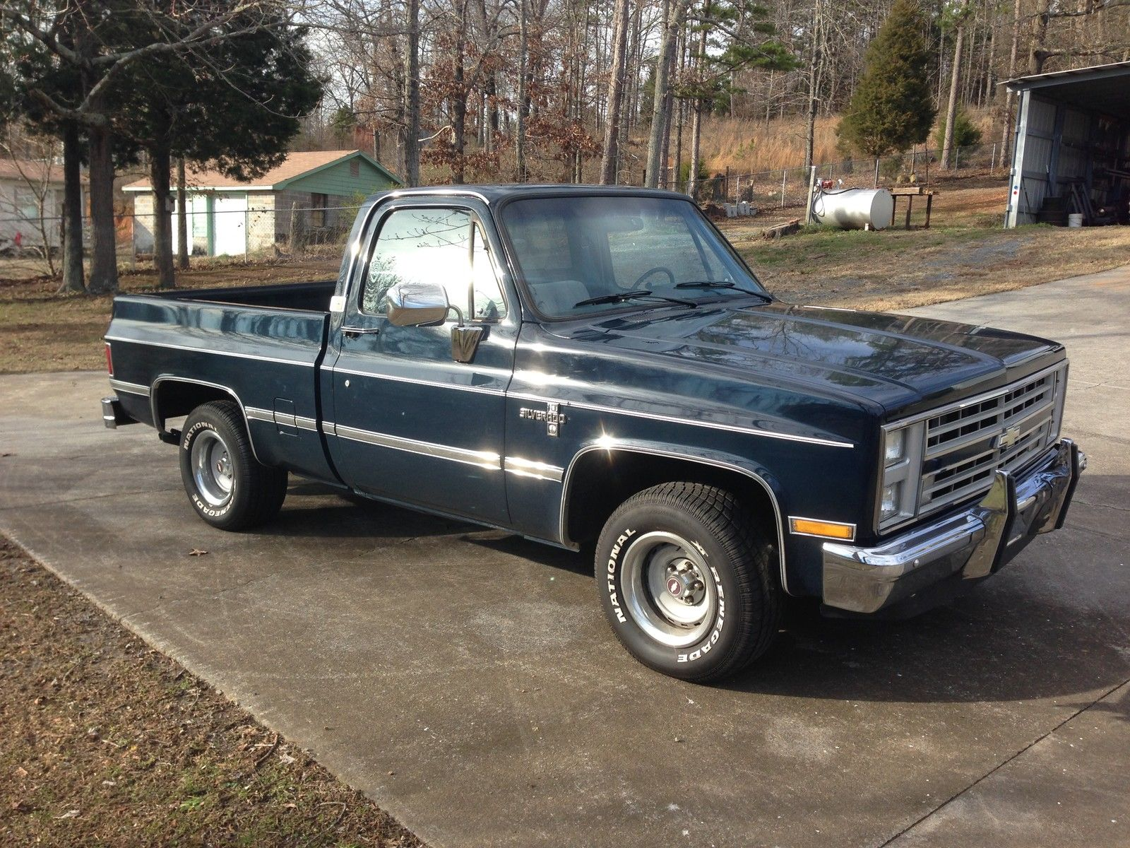 1987 Chevrolet Silverado 2wd Regular Cab Short Bed For Sale In Cartersville Georgia United States For Sale Photos Technical Specifications Description