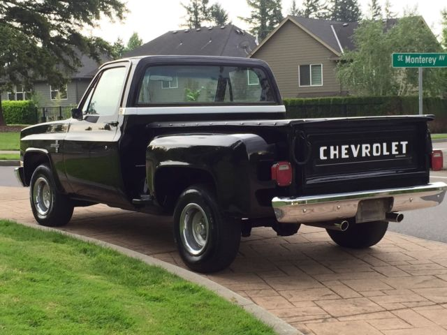 1987 CHEVROLET SILVERADO C-10 1500 STEPSIDE SHORT-BED ...