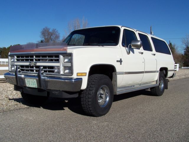 Smith Chevrolet Idaho Falls >> 1987 Chevrolet V10 K10 GMC Suburban 4x4 Silverado 5.7L 1 Owner 99% Rust Free