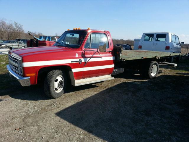 1987 chevy 3500 truck 11 850 mile chevelle camaro rs ss corvette shop hauler 454. Black Bedroom Furniture Sets. Home Design Ideas