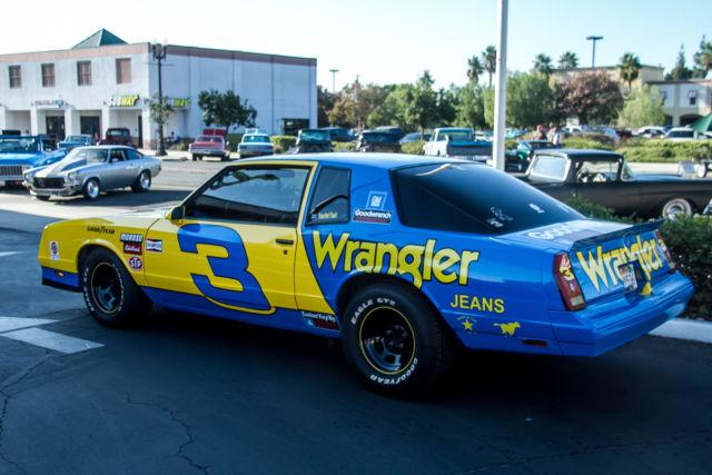 Dale Earnhardt Chevrolet Car Show