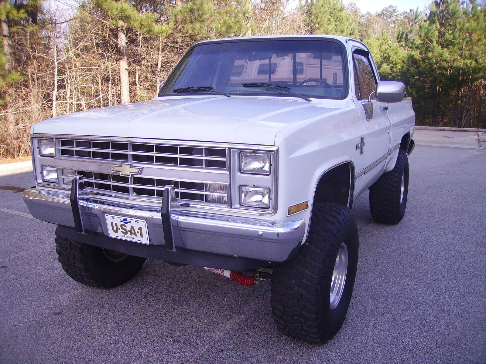 1987 chevy silverado 4x4 swb truck 350 fi engine p s p b a c heat new tires nice for sale in. Black Bedroom Furniture Sets. Home Design Ideas