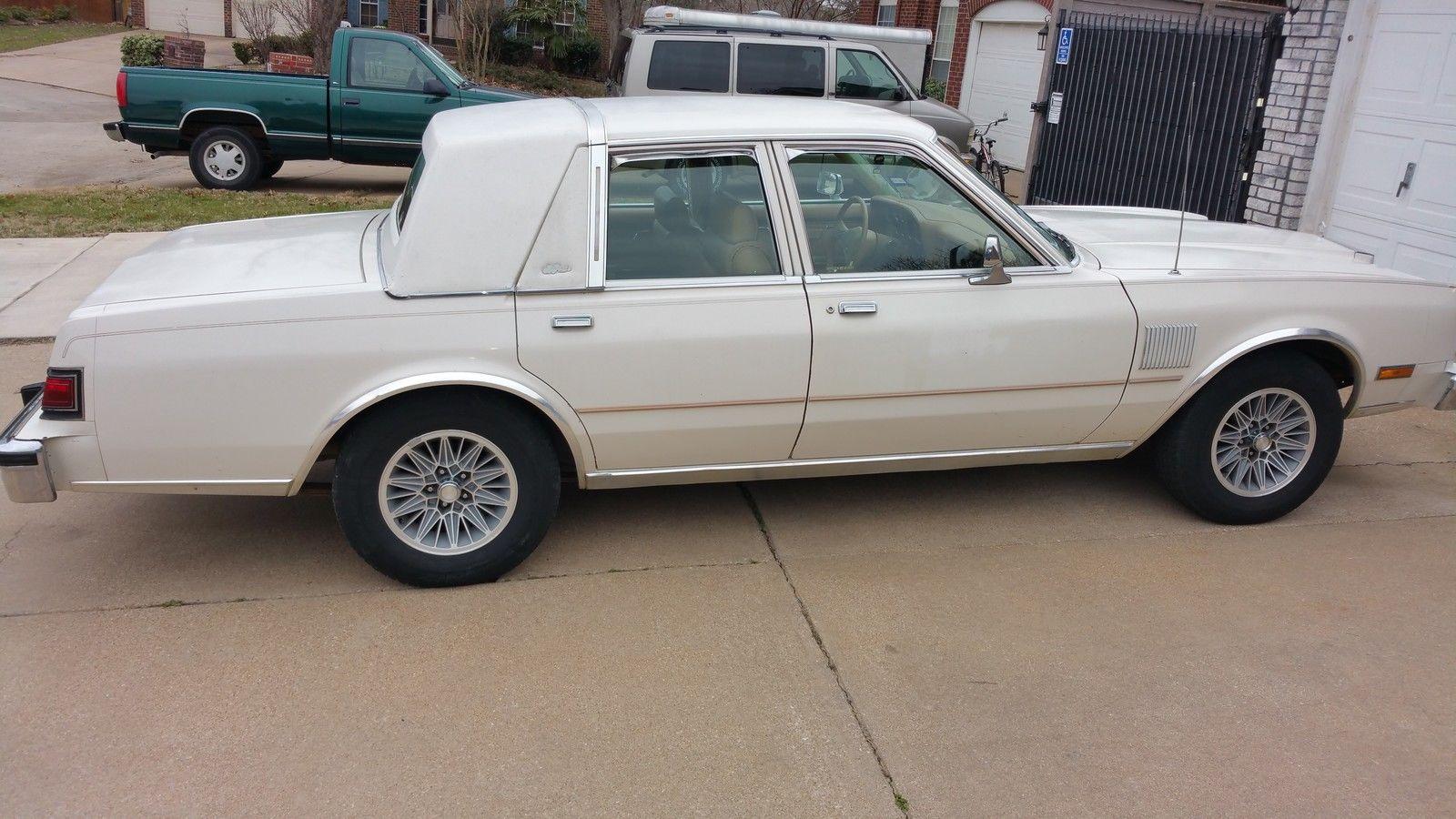 1987 chrysler fifth avenue base sedan 4 door 5 2l for sale in north richland hills texas. Black Bedroom Furniture Sets. Home Design Ideas
