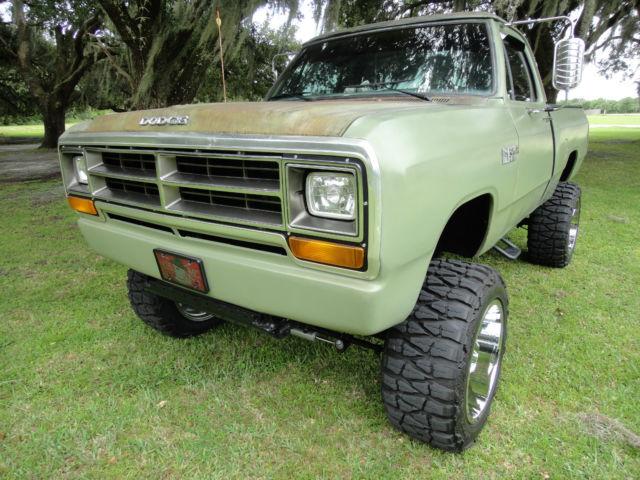 dodge  lifted  power ram florida beauty frame  auto     sale