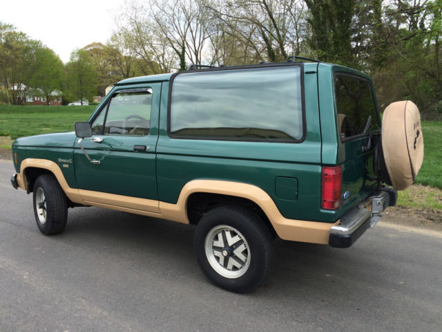 1987 Ford Bonco II , EDDIE BAUER, XCELLENT TRUCK, 2.9L V6 ...