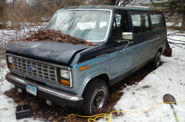 1987 Ford Club Wagon Van 302 V8 Engine Auto Trans E
