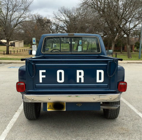1987 Ford F 150 Stepside Very Rare For Sale In Fort