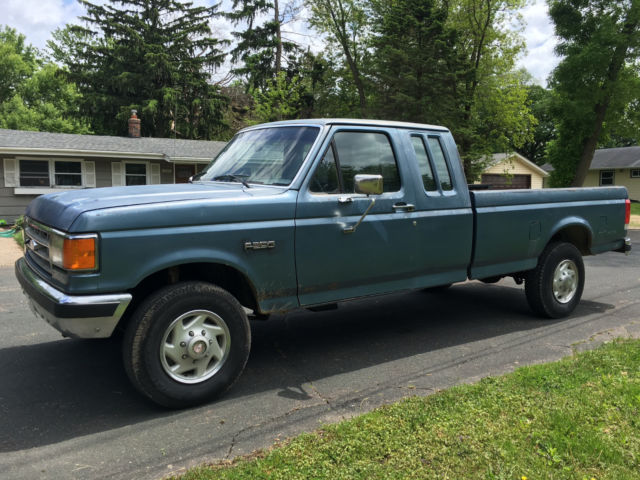 1987 Ford F250 >> 1987 Ford F 250 Extended Cab 4x4 Diesel Manual Solid Body
