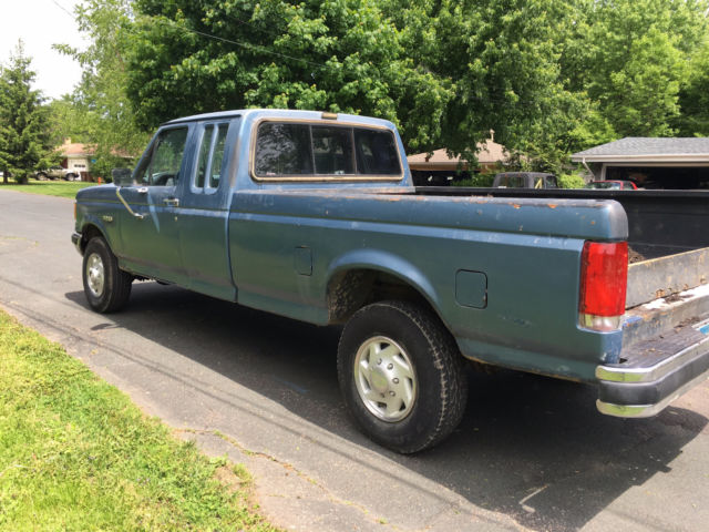 1987 Ford F 250 Extended Cab 4x4 Diesel Manual Solid