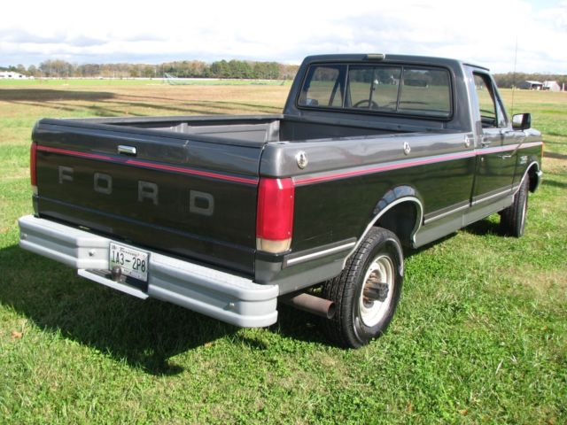 Ford F250 Fuel Tank Size >> 1987 Ford F-250 single cab 2WD manual trans 71k mile dual fuel tank 7.5L 460 V8