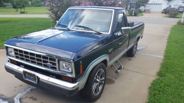 1987 Ford Ranger Xlt Pickup Truck Newly Restored Drive
