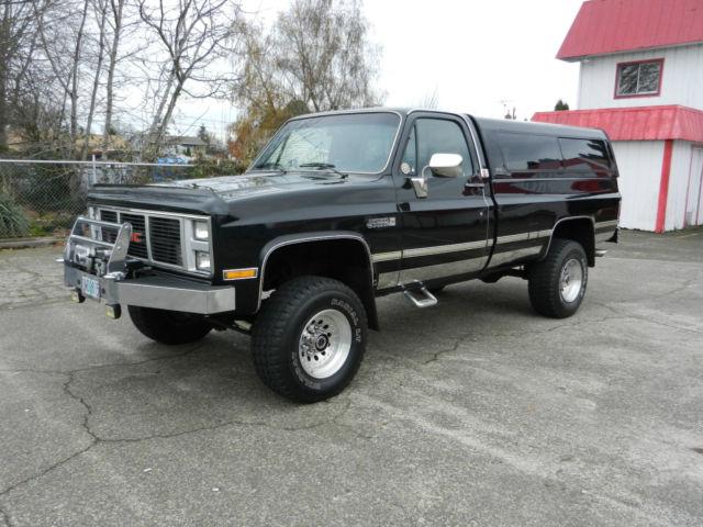 1987 gmc sierra classic 2500 4x4 39 very nice original truck 39 for sale in salem oregon united states. Black Bedroom Furniture Sets. Home Design Ideas