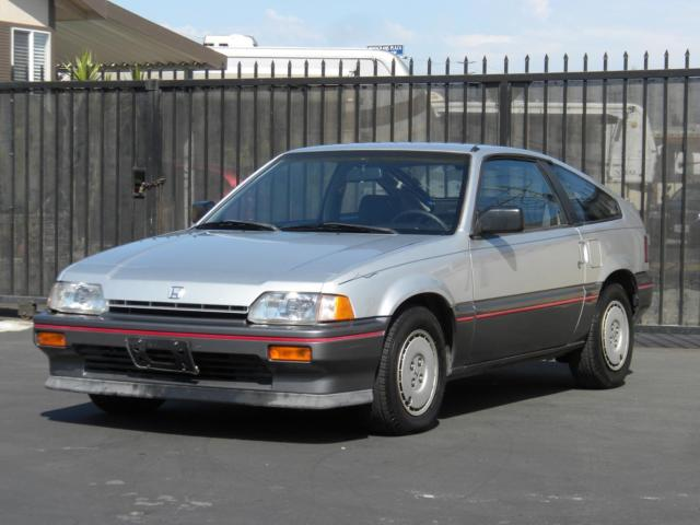 1987 honda civic crx museum condition super low miles. Black Bedroom Furniture Sets. Home Design Ideas