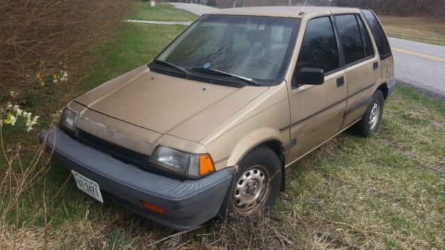 1987 honda civic wagon for sale in blacksburg virginia. Black Bedroom Furniture Sets. Home Design Ideas