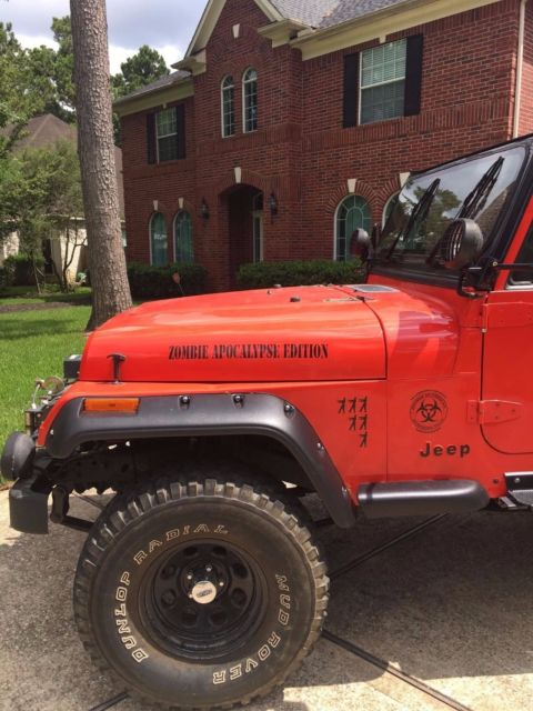 Jeep Wrangler For Sale In Texas >> 1987 Jeep Wrangler YJ Zombie Apocalypse Edition for sale: photos, technical specifications ...