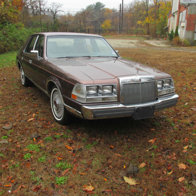 1987 LINCOLN For Sale In Bridgeton, New Jersey, United States