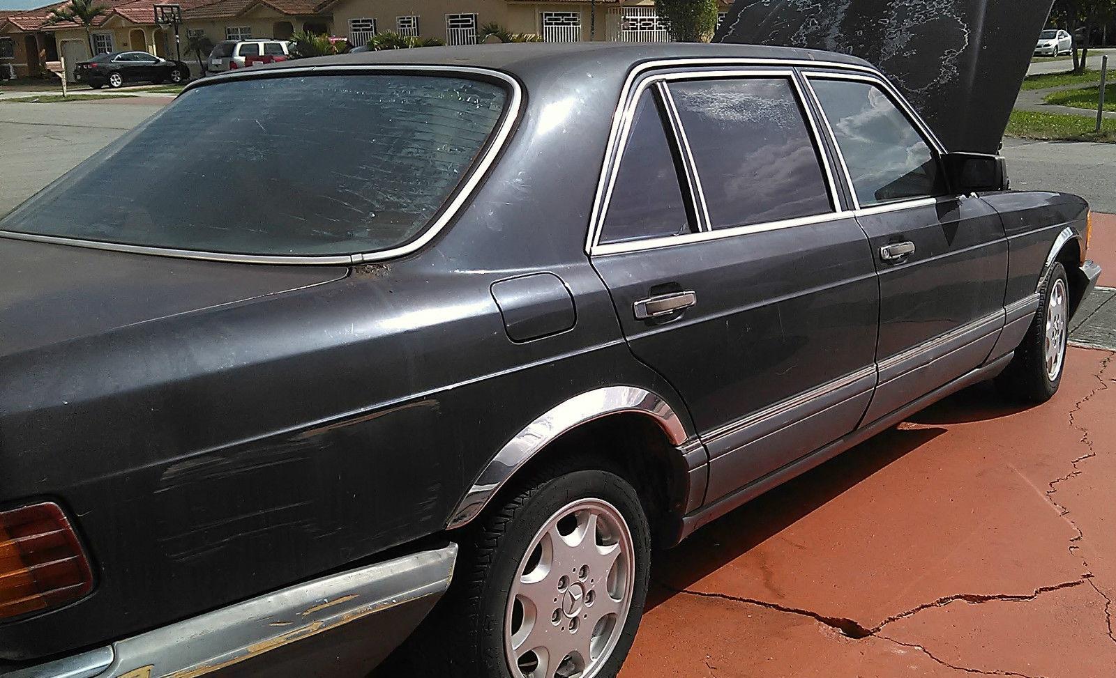1987 mercedes benz 300sdl 300 sdl turbo diesel for sale in for Mercedes benz diesel cars for sale