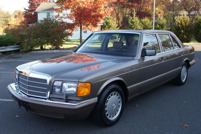 1987 mercedes benz 420sel 16k miles museum quality car for 1987 mercedes benz 420sel