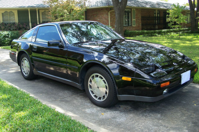 1987 nissan 300zx for sale by original owner 68 669 mi 2 dr blk classic car for sale in. Black Bedroom Furniture Sets. Home Design Ideas