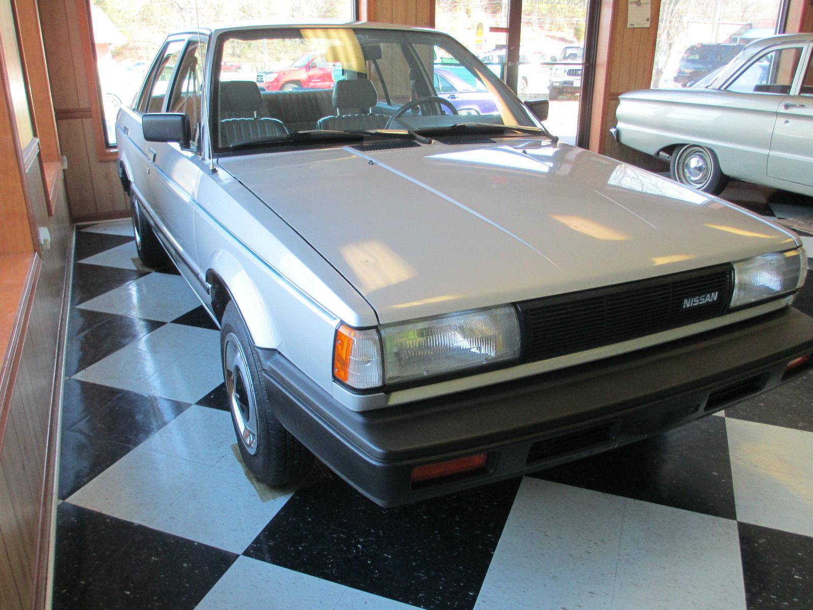 1987 Nissan Sentra E Sedan 4 Door 1 6l For Sale In Prince