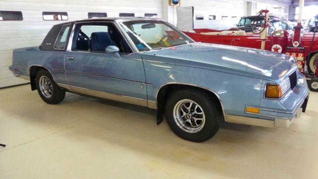 1987 oldsmobile cutlass salon 31426 miles light blue for 87 cutlass salon