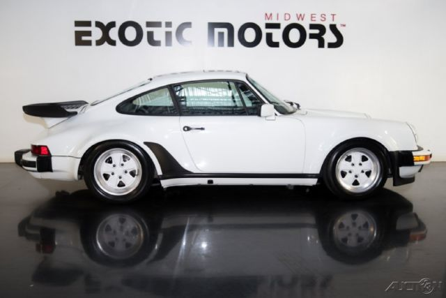 1987 porsche 911 930 turbo coupe grand prix white on black extremely clean for sale in. Black Bedroom Furniture Sets. Home Design Ideas