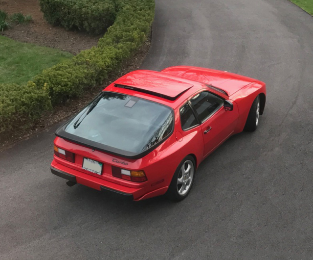 1987 Porsche 944 Turbo Coupe Turbocharged Inline 4 Up To